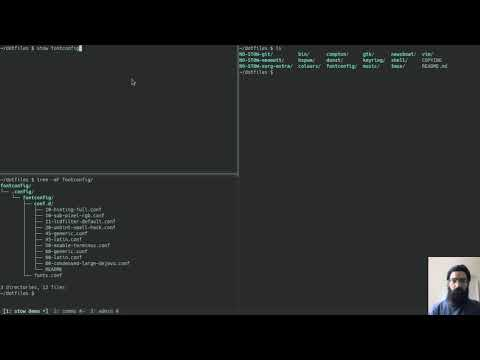 Demo: Manage dotfiles with GNU Stow   Protesilaos Stavrou