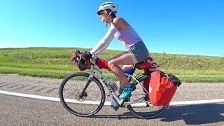Cycling the Sand Hills of Nebraska-Ryan and Ali Bike Across America-Ep 19