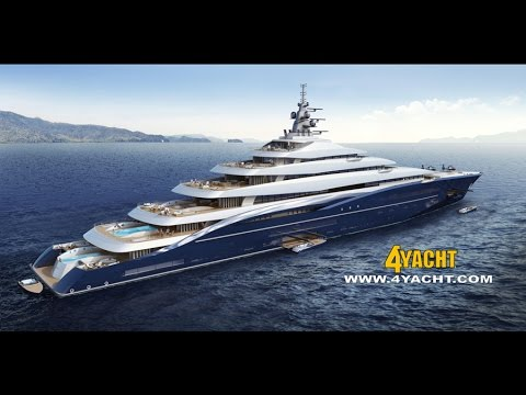 $770M USD Billionaires Yacht, Fox News Shepard Smith Explores The World's Largest Yacht - YouTube