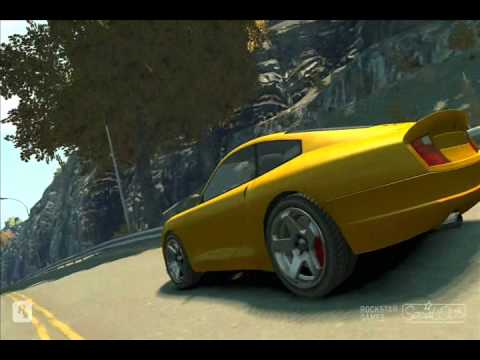 GTA IV Need For Speed The Run Michael Bay Trailer Remake