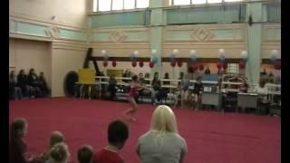 Соня соревнования гимнастика 04 06 2013