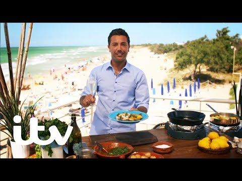 Gino's Italian Coastal Escape | Swordfish Steaks With Sauteed Potatoes And Gremolata | ITV