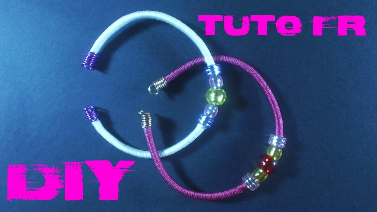 diy tuto bracelet en fil alu facile