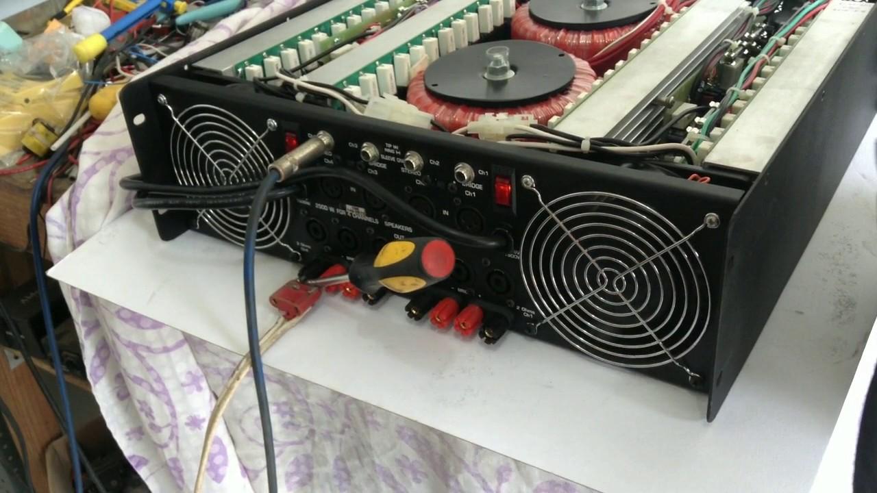 Amplificador De Potencia 10 000 Wts Youtube