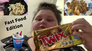 """Amberlynn Reid """"What I Ate Today"""" Compilation   Part 8"""