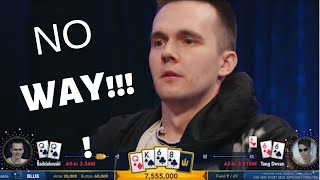3 CRAZY poker hands with QUADS!!