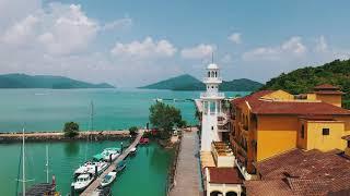 The beautiful natural scenery of Resorts World Langkawi