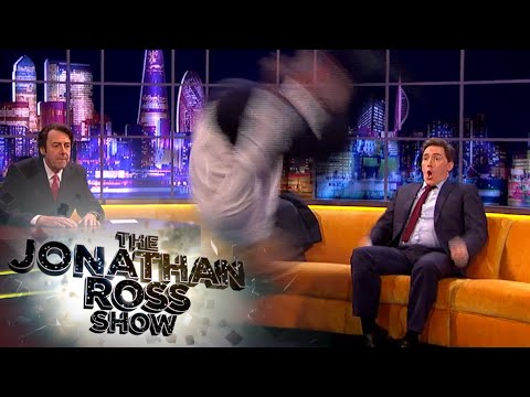 Taylor Lautner's Amazing Backflip  The Jonathan Ross