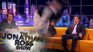 Taylor Lautner's Amazing Backflip - The Jonathan Ross Show