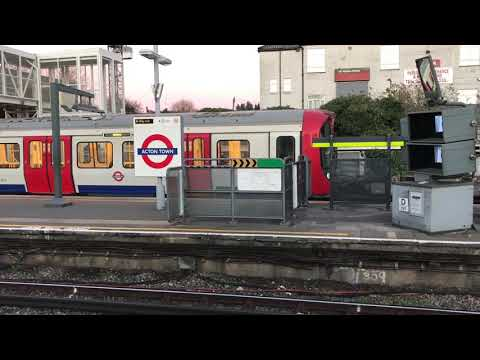 Acton Town Railway Station Photo Chiswick Park to Ealing and Northfields. 2