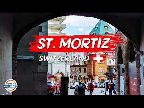 Summer Tour of St. Moritz Switzerland