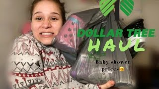 Dollar Tree Haul•prizes For Babyshower Games!