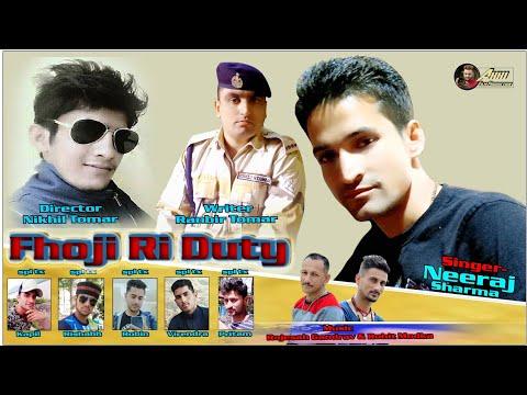 Shubh dipawali Fhoji RI duty singer- Neeraj Sharma फौजी री डयूटी नीरज शर्मा जौनसारी गीत Pahadi song