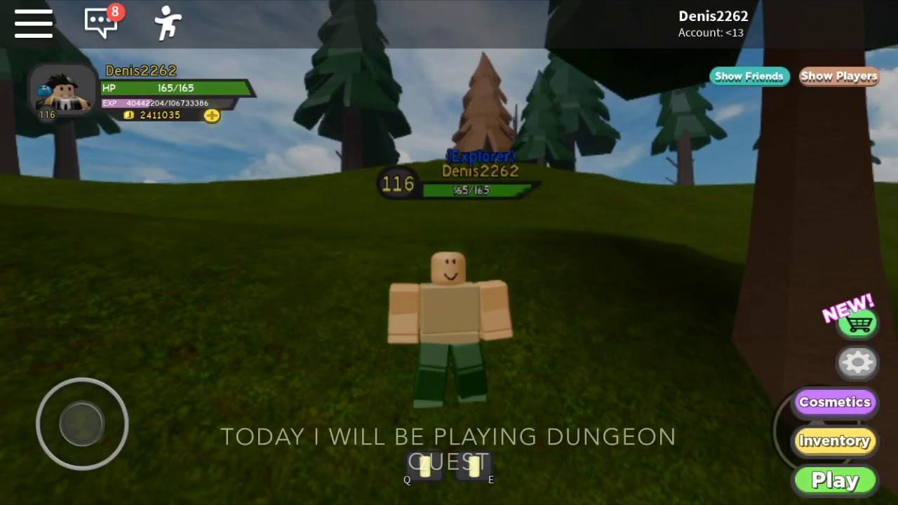 Dungeon Quest Roblox Denis