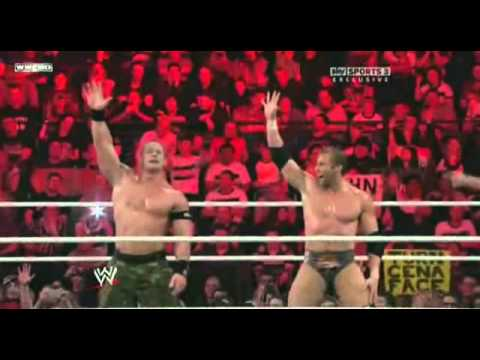 John Cena and Zack Ryder double you cant see me