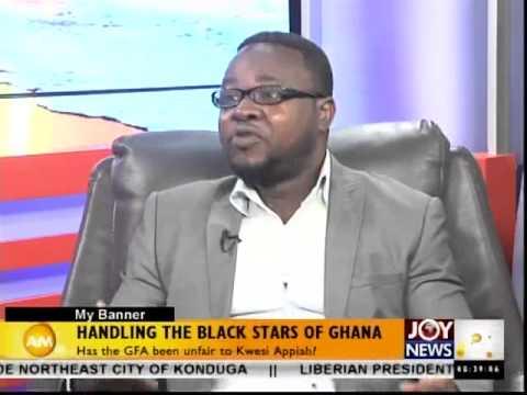 Handling the Black Stars of Ghana - My Banner (15-9-14)