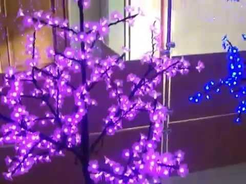 Сакура светодиодные деревья смотреть онлайн