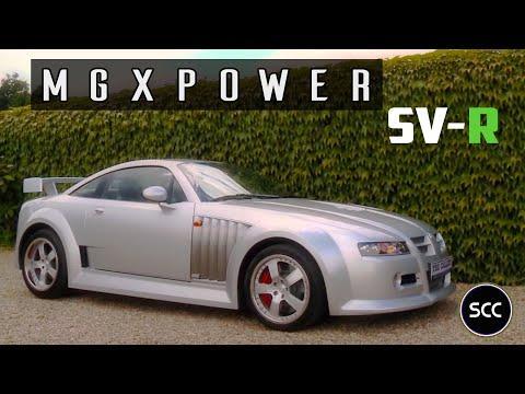 MG X POWER SVR 2004 - Small Test Drive - Engine Sound | SCC TV