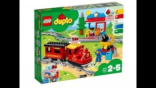 Паровозик LEGO DUPLO. Обзор.