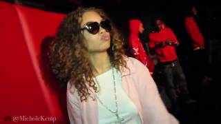 "Miss Mulatto and 21 Savage perform ""Red Opps"""