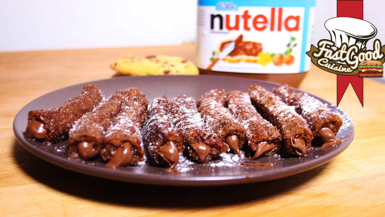 Top Recette de Fou ! Les churros cookies au Nutella - YouTube OV61