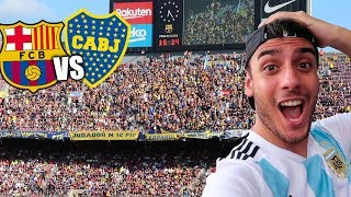 BARCELONA vs BOCA JUNIORS  3-0 FINAL EN EL CAMP NOU