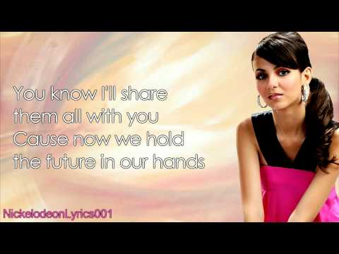 Victoria Justice ft. Hunter Hayes - Almost Paradise (+ Lyrics)