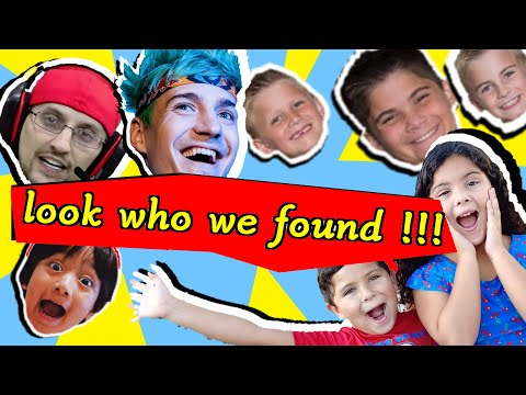 Look Who We Found! | We Met the Hobby Kids | Searching for Youtubers Toys |
