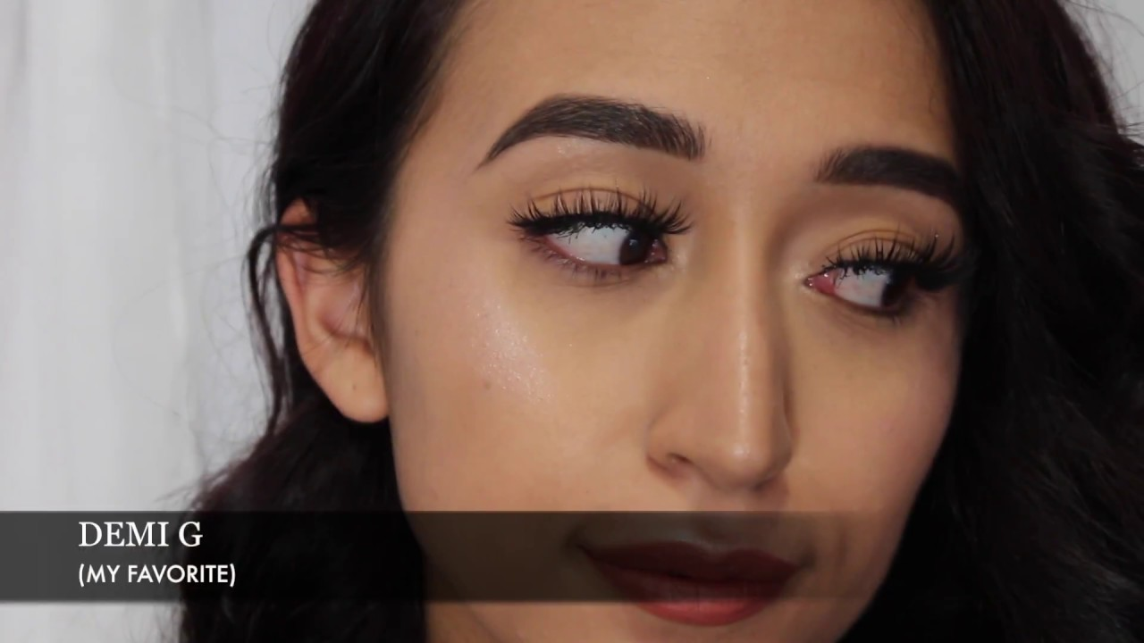 ccecec85418 koko lashes try on| no liner - YouTube