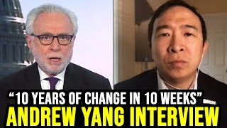 Andrew Yang Interview w/ CNN's Wolf Blitzer | May 10th 2020