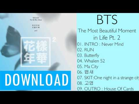 [Mini Album] BTS – The Most Beautiful Moment in Life Pt. 2 (MP3 + DOWNLOAD)
