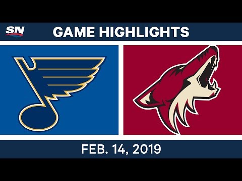 NHL Highlights | Blues vs. Coyotes - Feb 14, 2019