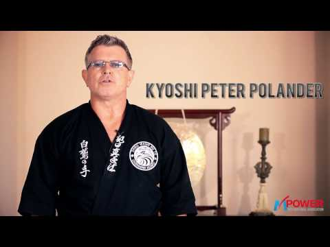 Kyoshi Peter Polander Demonstrates Different Kempo Blocks
