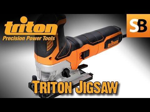 Triton TJS001 Pendulum Action 750w Jigsaw Review - 동영상