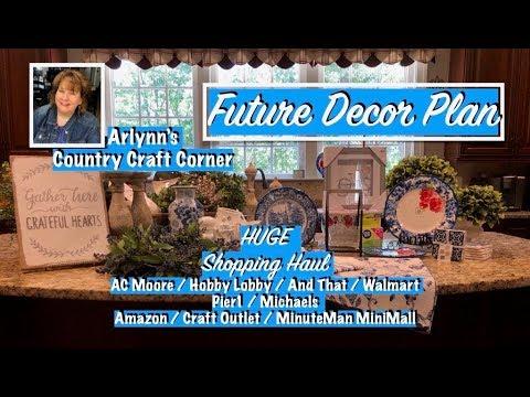 Future Decor Plan & Huge Shopping Haul