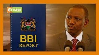 DP Ruto claims Raila has turned BBI into a political vehicle