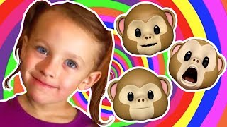 Monkey Finger Family | Family Friendly Nursery Rhymes | SillyPop