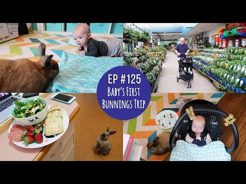 Mr & Mrs RAD Ep #125 ~ Baby's First Bunnings Trip