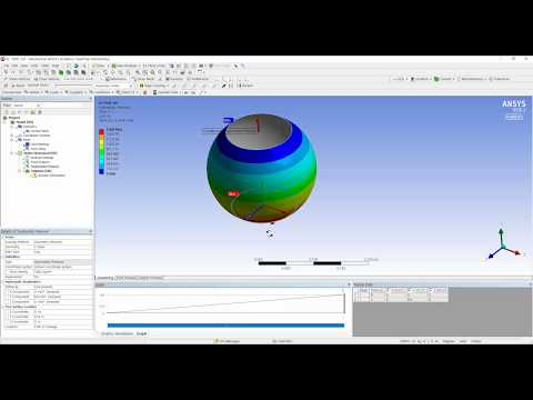 Problem 6.8, Chapter 6(Finite Element Modeling And Simulation With ANSYS Workbench)