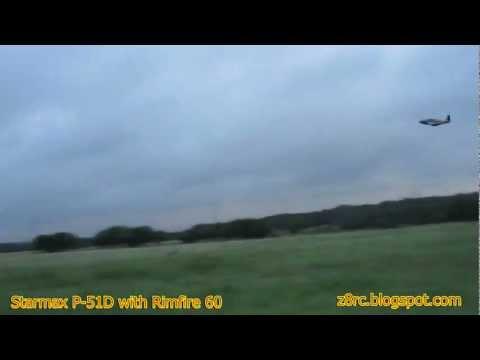 Starmax P-51D With Rimfire 60 On 6S
