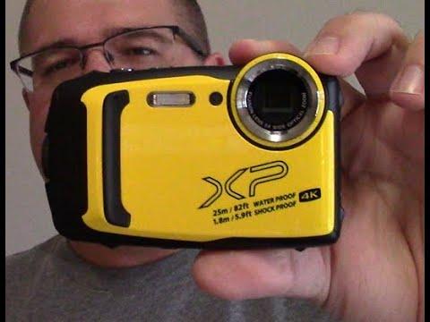 Fuji Finepix XP140 rugged digital camera video test and initial review, Part 1