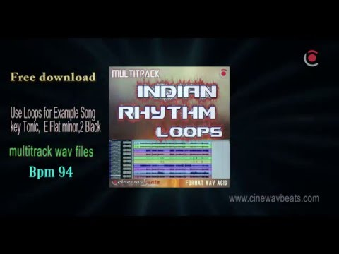 multitrack indian rhythm loops free 100% royalty FREE. Use any wear