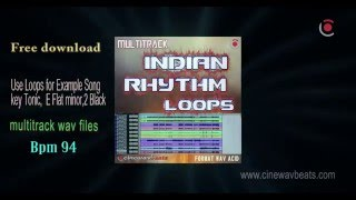 free multitrack indian rhythm loops