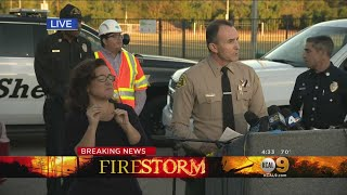 KCAL9 News Special Report: Officials Provide Update On 83,000-Acre Woolsey Fire
