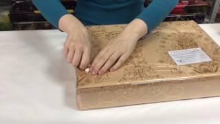 видео Жаккардовое постельное белье с вышивкой
