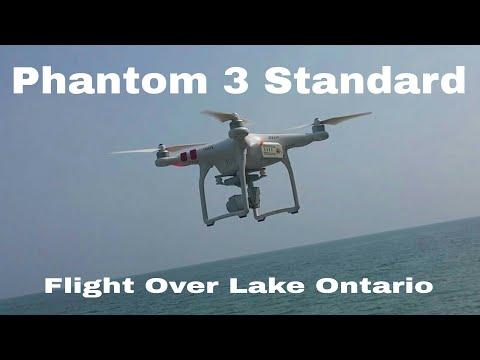 Dji Phantom 3 Flight Over Lake Ontario