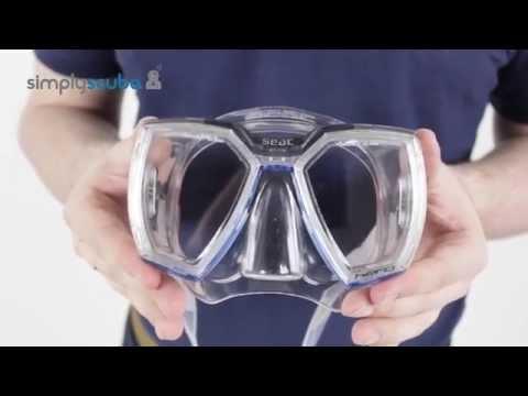 Seac Sub Hero Mask - www.simplyscuba.com