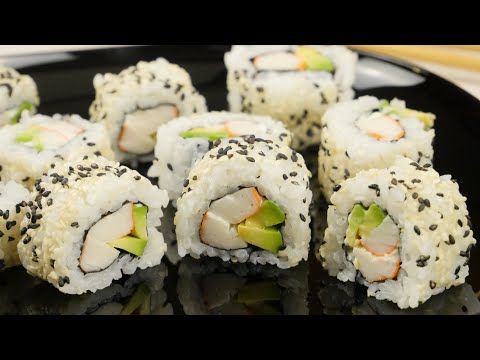 Sushi selber machen - California Rolls - Inside out Rolls