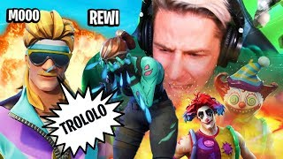 REWI TROLLING WUTANFÄLLE und AUSRASTER in Fortnite - RAGE FORTNITE COMPILATION!
