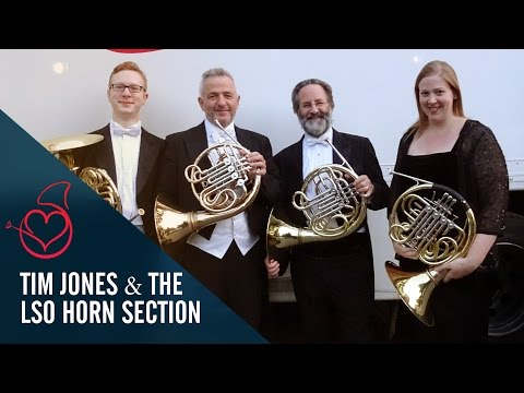 The LSO Horns live on Sarah's Horn Hangouts